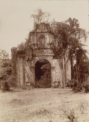 Bassein, Thana District. Entrance to the citadel of the Fort